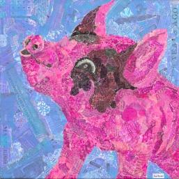This Little Piggy 12 x 12 Price $350.00