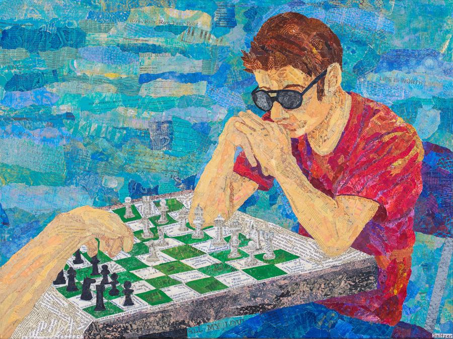 Chess Match 18x24
