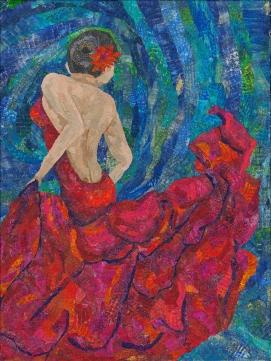 Dancer in Red 001_9x12_scan 300ppi